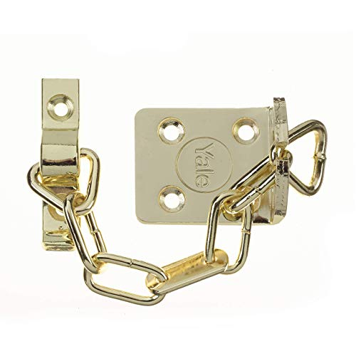 Yale Locks WS6 Entrebâilleur chainette Électro-laiton (Import Grande Bretagne)