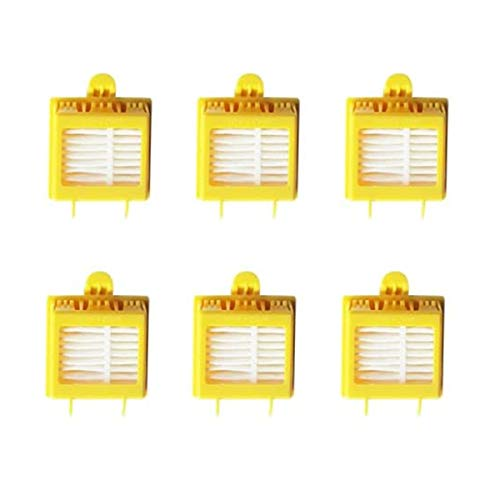 Revin-Sky 6 Pcs Hepa Filter Accessory Kit Replenishment Parts Compatible with iRobot Roomba 700 Series 760 770 780 790
