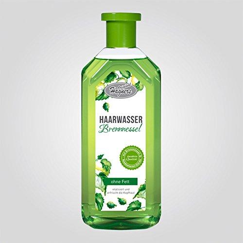 Original Hagners Haarwasser Brennnessel ohne Fett 500 ml