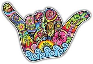 ملصق قابل للتعليق على اليد شاكا ملصق هاواي من Megan J Designs اللابتوب ويندوز السيارات السيارات الفينيل ملصق