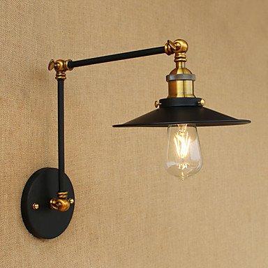 GAG-Spots muraux@ac-240v 220v 4W ampoule LED mur e27 bougeoir laiton antique vintage éclairage domestique lumière de la lampe murale industrielle intérieur
