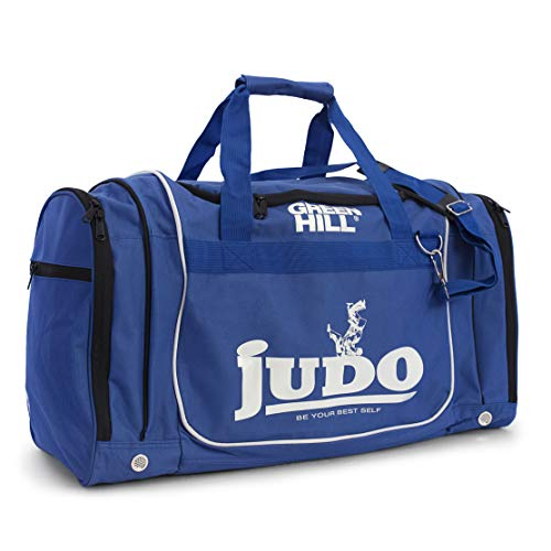 GREEN HILL Borsa Sportiva Judo Bolsa de Deporte para Gimnasio, Artes Marciales Dojo, Unisex Adulto, Turquesa, L