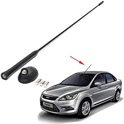 Amyove Kit Base de Antena automática para Ford/Focus 2000-2007 mástil del Techo del automóvil Accesorios de Coche