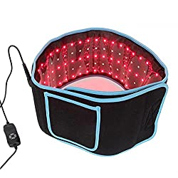Yal Electric Heating Pad Waist Belt, Infrared Red Light Therapy Device Home Use Wearable Deep Penetrating Low-Level Light Therapy for Pain Relief, Muscle Therapy