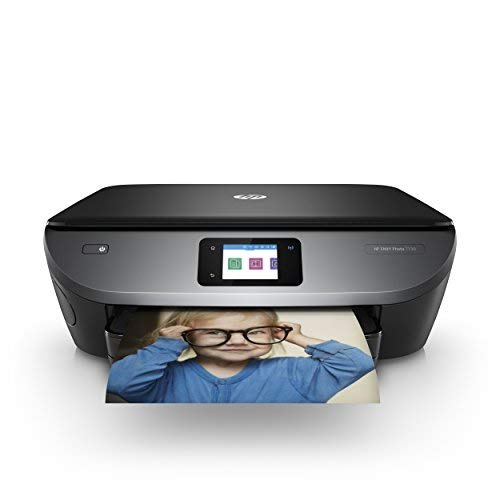 HP ENVY Photo 7130 multifunctionele printer (Instant Ink, printen, scannen, kopiëren, WLAN, Airprint) inclusief 4 maanden Instant Ink