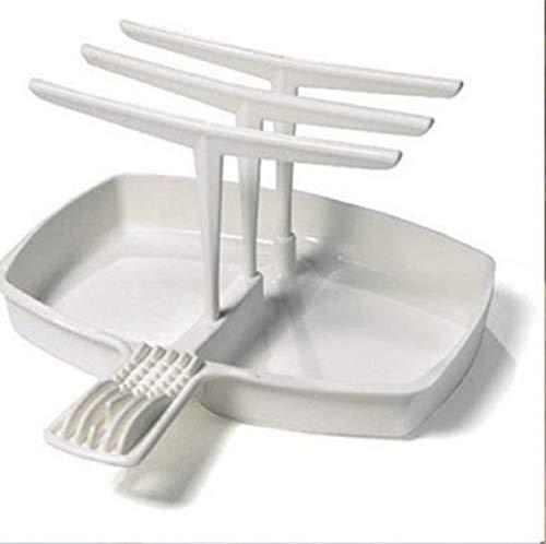 Mikrowelle Bacon Cooker Tray Rack Kleiderbügel Essenszubereitung Kochen Kitchen Supply Home Wohnheim Verwendung Werkzeuge Speck Herd