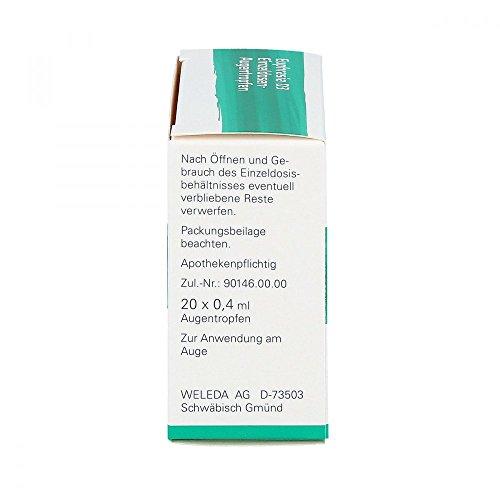 Weleda Euphrasia D3 Einzeldosen-Augentropfen, 20x0,4 ml Lösung - 2