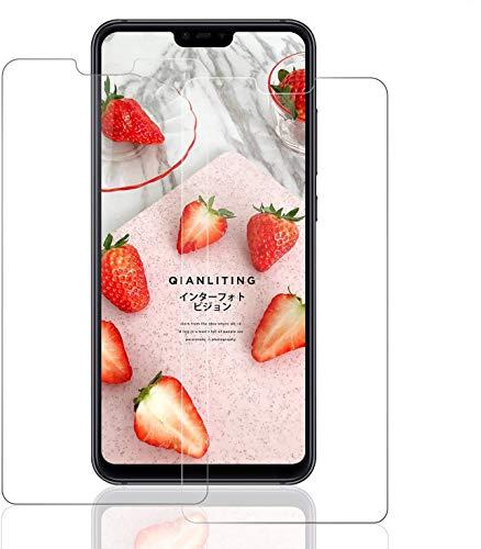 SNUNGPHIR® Xiaomi Mi8 Lite Cristal Templado para Protector Pantalla [2 uds] Alta Definición Transparente 9H Dureza Resistente a Arañazos Anti-Huella Digital Libre de Burbujas Protección Ojos