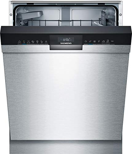 Siemens SN43HS41TE iQ300 Unterbau Geschirrspüler / E / 92 kWh / 12 MGD / Smart Home kompatibel via Home Connect / hygiene Plus Programm / vario Korb System