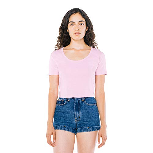Womens Fitted Baby Rib Tee - 4