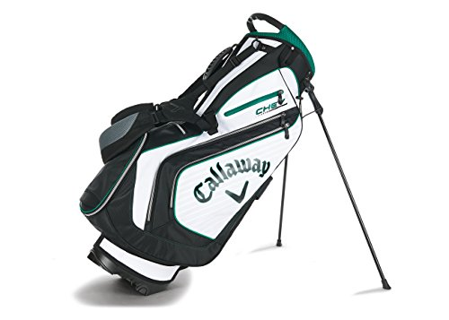 Callaway 2016 Chev Stand Bag, White/Black/Green