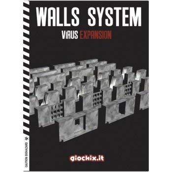 Inmedia Srl / Giochix GIO0041C - Brettspiel Virus: Walls Expansion