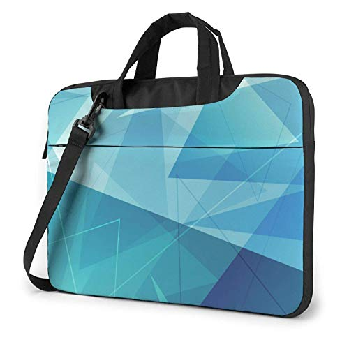 XCNGG Computertasche Umhängetasche Laptop Bag, Abstract Background Business Briefcase Protective Bag Cover for Ultrabook, MacBook, Asus, Samsung, Sony, Notebook 15.6 inch