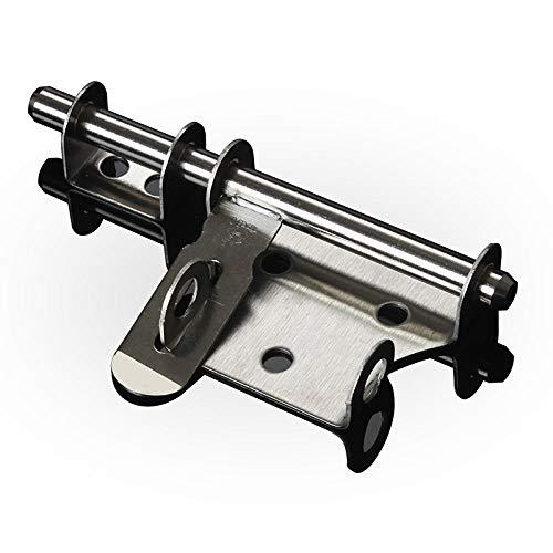 Sujete la cerradura de puerta de hierro antirrobo cerradura de pasador de puerta de acero inoxidable-8 pulgadas 201
