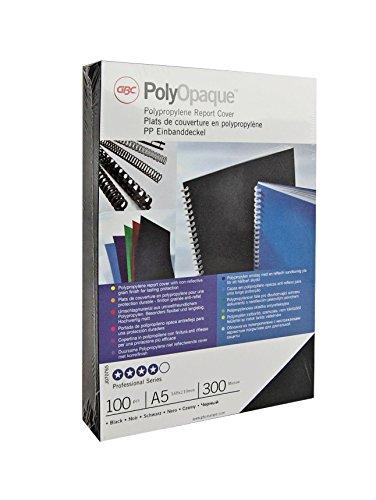 GBC PolyOpaque 300 Mikron, Format A4, Grün, 100 Stück