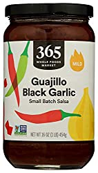 365 by Whole Foods Market, Salsa, Small Batch Guajillo Black Garlic - Mild, 16 Ounce