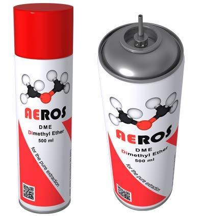 Aeros DME Dimethylether organisches Lösungsmittel-Extraktionsgas für BHO – Günstigstes Dimethylether auf dem Markt. Mit besseren Resultaten als Butangas!