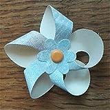 YUANRUI Fustelle in metallo fustellate 3D mulino a vento fiore spinner fai da te scrapbook card girandola fan party goffratura cartella stencil
