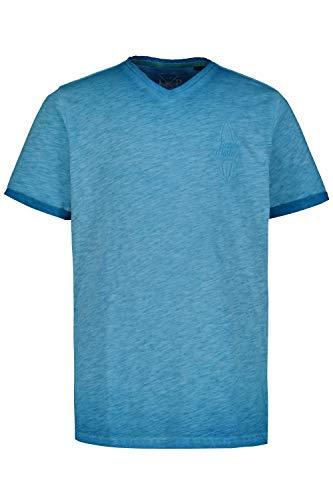 JP 1880 T-Shirt Camiseta, Turquesa (Azul neón 72669775), 7XL para Hombre
