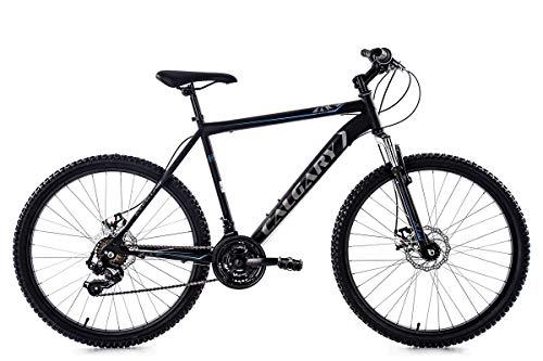 KS Cycling Mountainbike Hardtail MTB 26\'\' Calgary anthrazit RH 51 cm