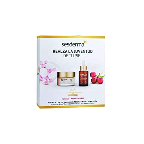 Sesderma PACK Reti Age Crema Antienvejecimiento, 50ml+Resveraderm Sérum Liposomado, 30ml