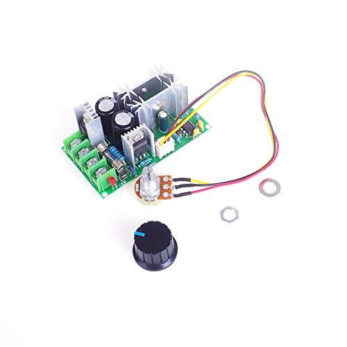 ANGEEK 12V 24V 36V 48V 60V 1200W 20A PWM Controller DC Motor Speed Control Stepless governor module High Power Drive Module