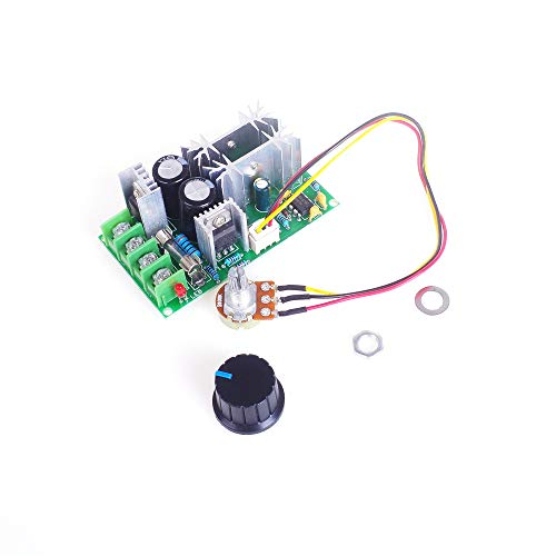 ANGEEK 12V 24V 36V 48V 60V 1200W 20A PWM Controller DC Motor Speed Control Stepless Governor Module High Power Drive Module