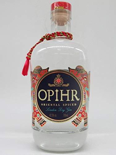 Opihr Oriental Spiced London Dry Gin 42,5%, mit Kräutern und Gewürzen aus dem Orient, von Englands ältestem Hersteller von Gin seit 1761 (1 x 0.7 l)