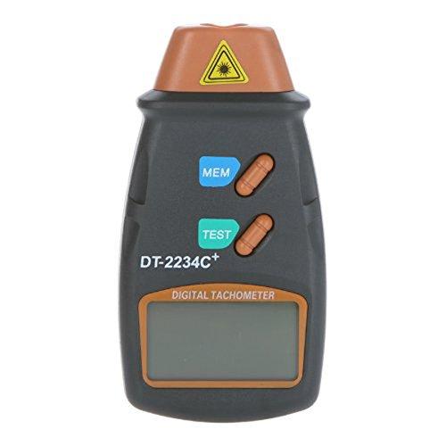 lcd digital de láser del tacómetro rpm 2.5-100000