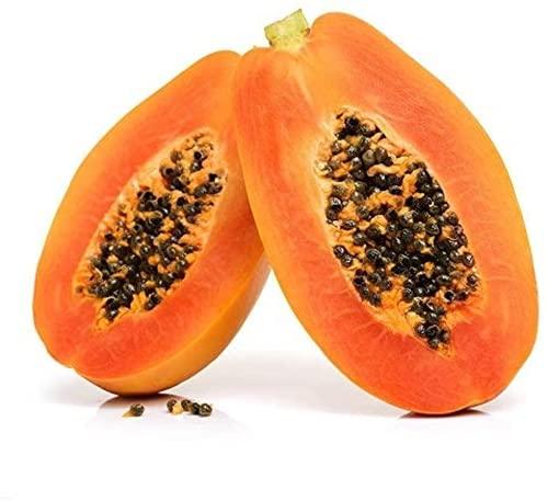 25 pezzi semi di papaia oro giallo frutta fresca aroma unico albero da frutto tropicale seme per giardino di casa cortile esterno piantagione agricola