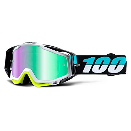 100% Racecraft Anti Fog Mirror Goggles st Barth 2019 Bike Goggles