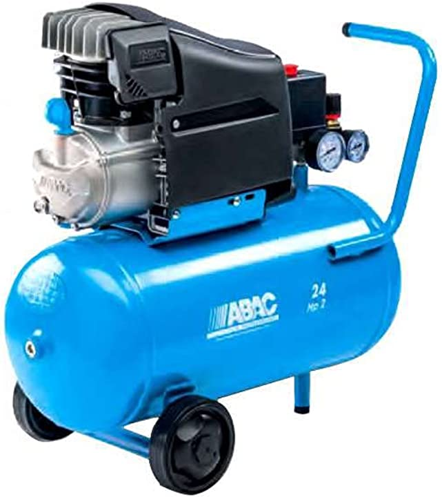 Compressore d`aria abac pole position litri 24 new 1129100021