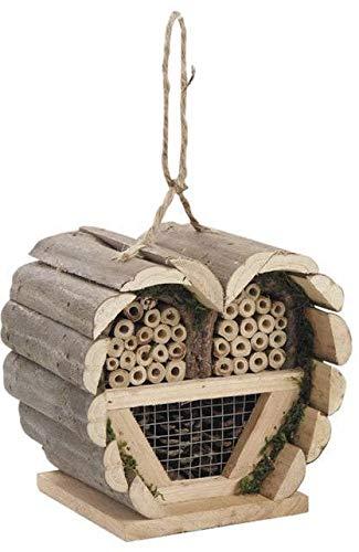 AUBRY GASPARD Maison à Insectes Coeur en Bois