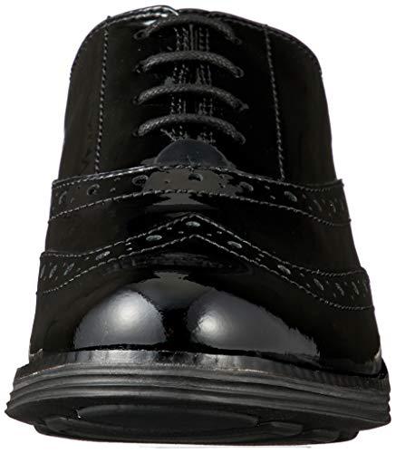 [コールハーン] 公式 オリジナルグランド ウィング II womens ブラック パテント ウォータープルーフ レザー 24.5 cm