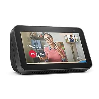 Nuovo Echo Show 5 (2ª generazione, modello 2021) | Schermo intelligente con Alexa e telecamera da 2 MP | Antracite (B08KH2MTSS) | Amazon price tracker / tracking, Amazon price history charts, Amazon price watches, Amazon price drop alerts