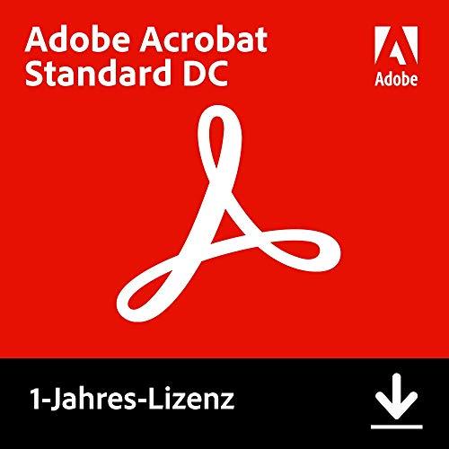 Adobe Acrobat Standard DC | Standard | 1 Jahr | PC | Download