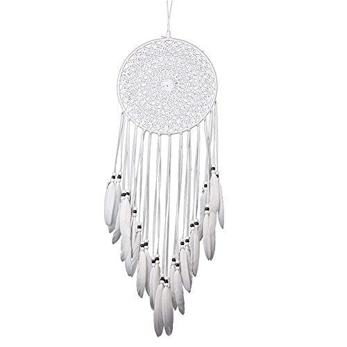 shihao159 Fashion Handicrafts India - Atrapasueños para colgar en la pared, decoración de coche, campanillas de viento, atrapasueños, borla larga para dormitorio