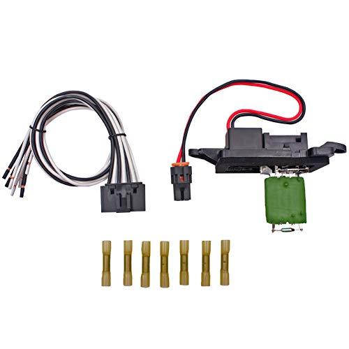AC Heater Blower Motor Resistor - Original Equipment Heating and Air Conditioning Blower Motor Resistor For Chevrolet GMC & Cadillac Silverado, Tahoe, Suburban, Avalanche, Sierra, Yukon 89019088