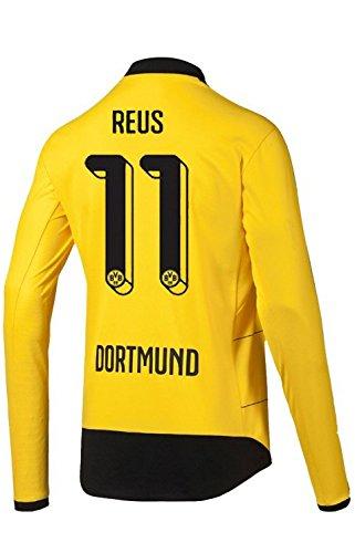 PUMA BVB Borussia Dortmund Home Trikot Langarm Herren 2016 - Reus 11, Größe:L