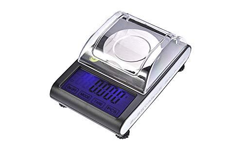 Quantum Abacus X-Precise 1MG: Bilancia digitale di precisione/pesalettere/bilancina dell\'orafo/bilancia tascabile, risoluzione estremamente precisa di 50gr / 0,001gr, BCOLA-50g0.001