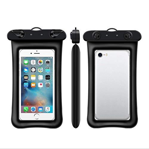 Funda impermeable para teléfono móvil, bolsa seca, transparente con pantalla táctil de natación impermeable para iPhone 11 Pro Max XS Max XR X 8 7 Plus