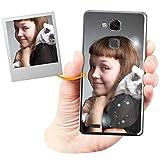 Coque Personnalisée avec Effet Brillance pour Huawei Mate 7 avec Votre Photo, Votre Image ou Votre...