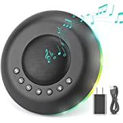 Tabiger White Noise Machine,20 Soothing Sounds Sleep Sound Therapy & Adjustable Nightlight   Timing Sleep Sound Machine   Plug in Or Battery Powered (Battery not Included)