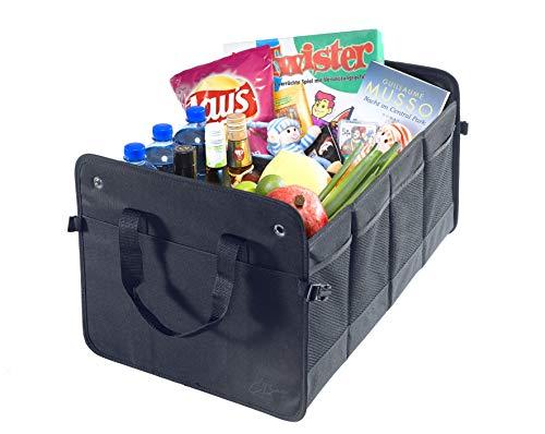Bagagliaio Borsa in Poliestere con base.–pieghevole Box Baule Box Scatola pieghevole Organizer Auto Box tasche bagagliaio di un' auto di CB praesent pubblicità GmbH