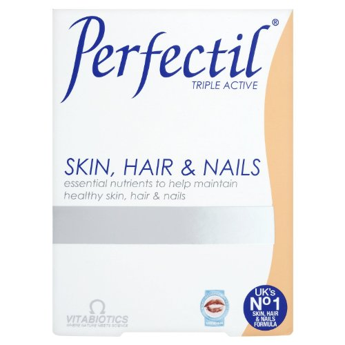 Vitabiotics Perfectil Tablets Healthy Skin Hair and Nails 30 Tablets (Pack of 2)