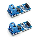 HiLetgo 2個セット 20A ACS712 電流センサモジュール ACS712 20A 電流検出範囲 Arduinoに対応 [並行輸入品]