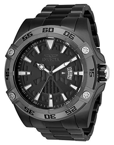 Invicta 26524 Star Wars Darth Vader Reloj para Hombre acero inoxidable Automático Esfera negro