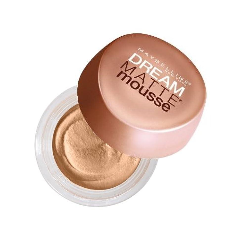 薬用ファンネルウェブスパイダー突っ込む(3 Pack) MAYBELLINE Dream Matte Mousse Creamy Natural (並行輸入品)
