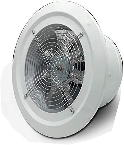 Round panel afzuigkap 2800 snelheid hoge snelheid krachtige ventilator muur muur type ventilator 200mm geschikt voor keuken en badkamer
