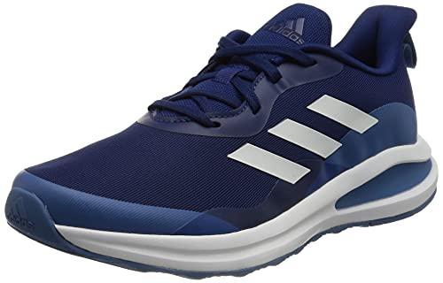 adidas Fortarun K, Zapatillas de Running Unisex Adulto, AZUVIC/FTWBLA/AZUFOC, 39 1/3 EU